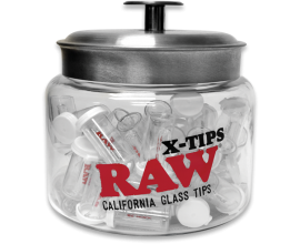 RAW - x RooR Glass Re-Useable Tips - REGULAR - 1 x Single