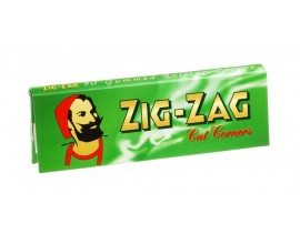 Zig Zag - Regular Green Papers (100) - ZZGRN
