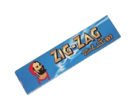 Zig Zag - Blue Kingsize Slim Papers (50) - ZZBKS