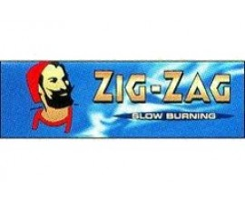 Zig Zag - Regular Blue Papers (100) - ZZBLU