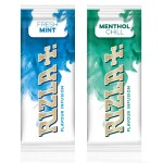 Rizla | Cigarette / Tobacco Flavour Infusion Cards | Display Pack of 25 Cards | MENTHOL CHILL | RIZFC-MENCHILL