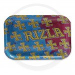 Rizla   Metal Rolling Trays   MULTICOLOUR RIZLA LOGO   Various Sizes