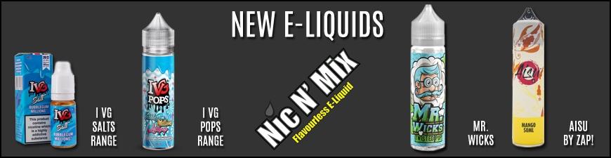 New E-Liquids